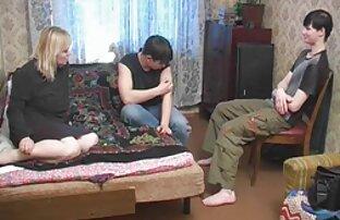 انعطاف پذیر, دخترک معصوم, تنگ, مقعد سکس خوردن سینه زن با معلم رقص