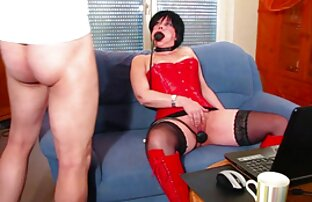 فاحشه طول سوپر سینه زن می کشد دیک بزرگ در الاغ تنگ او