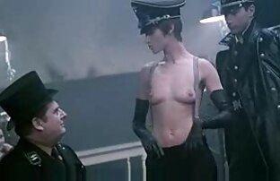 زن سکس و سینه مهمانخانه دار جاسوس, خدمتکار, به عنوان او سکته مغزی و fucks در